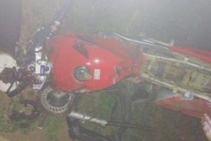 Piedade de Caratinga: Jovem morre em batida de motocicleta na BR 474