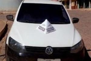 Fervedouro: Veículo roubado no Espírito Santo é recuperado pela PM