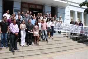 Manhuaçu: OAB participa de ato público em defesa do Ministério Público