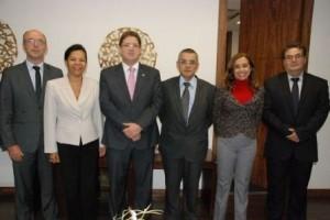 Belo Horizonte: Diretoria de Manhuaçu visita o presidente da OAB/MG