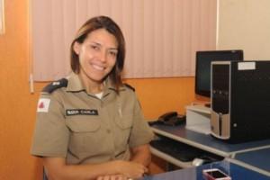 Manhuaçu:  Tenente Carla é a nova Assessora de Comunicação do 11º Batalhão