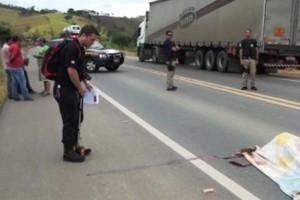 Ubaparonga: Jovem morre em acidente de motocicleta na BR 116