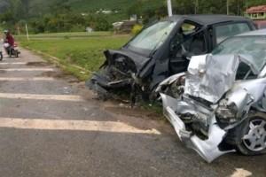 Irupi/ES: Menina de 4 anos morre em acidente no trevo de acesso a cidade, na BR 262