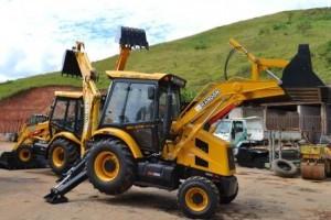 Manhuaçu: Prefeitura adquire novas máquinas para o Município