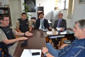 Manhuaçu: PM e Prefeitura discutem a segurança pública no município