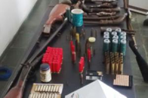 Raul Soares: Polícia apreende armas e munições na casa de idoso