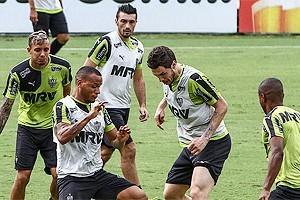 Atlético: Mistério na escalação do time