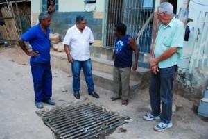 Manhuaçu: Presidente da Câmara de Vereadores visita Bairro Petrina