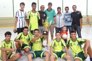 Luisburgo: Meninos da Vila levam a Taça na Copa Futsal de Verão