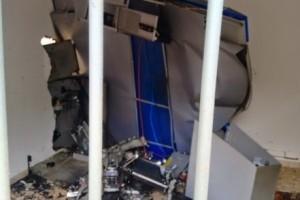 Fervedouro: Caixa eletrônico é explodido por ladrões
