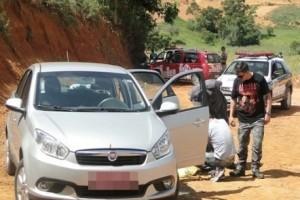 Muriaé: Carro de taxista é encontrado com sangue