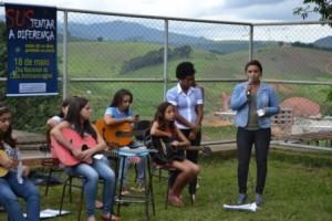 Manhuaçu: Oficina de violão reforça luta antimanicomial