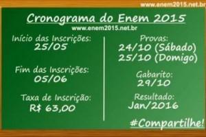 ENEM: MEC aumenta taxa de inscrição em quase 100%