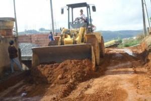 Manhuaçu: Prefeitura inicia obras no Bairro Matinha