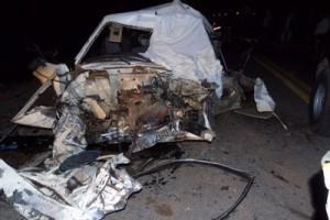Manhuaçu: Duas pessoas morrem em acidente em Realeza