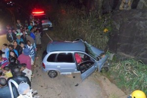 Santa Margarida: Açougueiro morre em acidente com Corsa