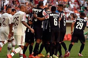 Brasileirão: Atlético goleia o Fluminense