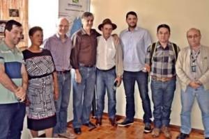 Ação: Comitê de Bacia do Rio Manhuaçu recebe visita de fundação alemã