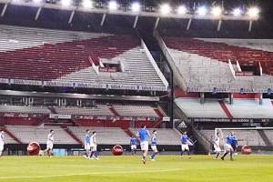 Libertadores: River X Cruzeiro, segurança total