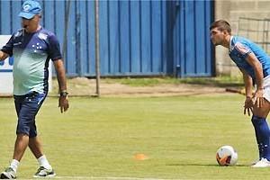 Libertadores: Jogadores do Cruzeiro treinam pênaltis