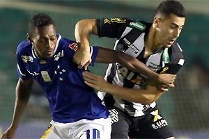 Brasileirão: Cruzeiro não consegue vencer no Sul
