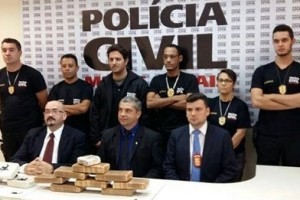 Polícia Civil apreende drogas