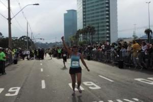 Esporte: Atleta de Luisburgo participa de maratona no Sul
