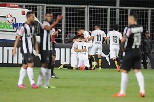 Brasileirão: Atlético empata com o Santos