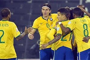 Copa América: Brasil vence e pega o Paraguai no sábado