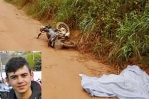 Tombos: Jovem morre em acidente de motocicleta