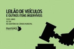Manhuaçu: Prefeitura leiloa bens inutilizáveis
