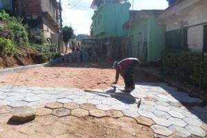 Manhuaçu: Prefeitura calça rua na Matinha