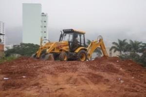 Manhuaçu: Terreno é preparado para ESF no São Vicente