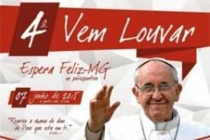 "Espera Feliz: ""Vem Louvar"" recebe fiéis e Celina Borges"