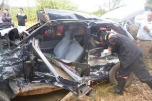 Santa Rita de Minas: Pai e filha morrem em acidente na BR 116