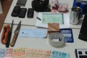 Faria Lemos: Presos integrantes de quadrilha de assaltantes