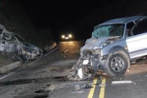 Ipanema: Acidente mata jovem na BR 474