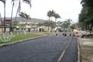 Manhuaçu: Estacionamento do batalhão é ampliado