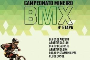 Manhuaçu: Cidade receberá a 4ª etapa do Campeonato Mineiro de BMX