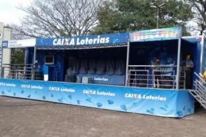 Ipanema: Caminhão da sorte na cidade