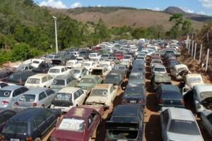 Manhuaçu: Detran leiloa veículos apreendidos no próximo sábado