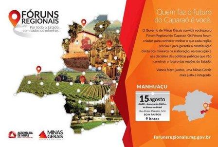 Forum Regional 15 ago