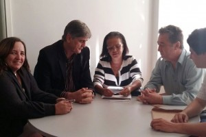 Manhuaçu: Nailton Heringer busca recursos na Funasa