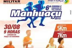 Manhuaçu: Corrida de São Lourenço marca o domingo