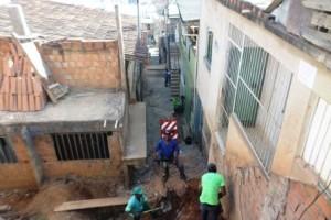 Manhuaçu: Escadaria é reconstruída no Bairro Nossa Senhora Aparecida