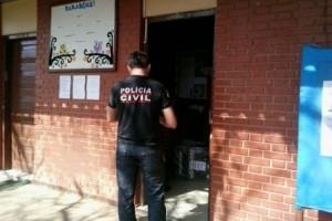 Fervedouro: Escola é furtada. Mais de 20 mil reais em prejuízo