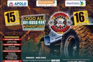 Manhuaçu: Logo Ali Adventure Off-Road movimenta fim de semana