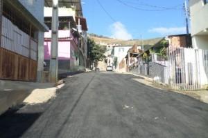 Manhuaçu: Prefeitura realiza recapeamento na Matinha