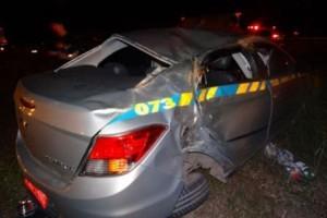 Muriaé: Bandidos roubam táxi e matam mulher em acidente