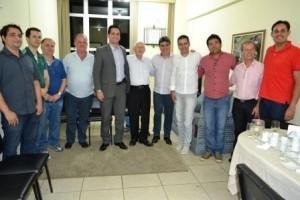 Manhuaçu: ACIAM recebe visita de empresários de Muriaé